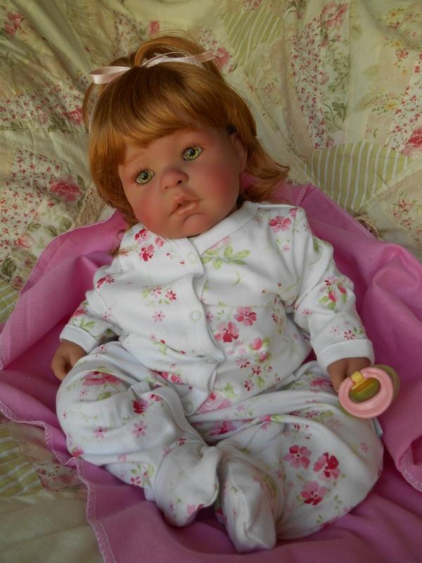 Reborn Htf Retired Rosebud Berenguer Sculpt Toddler Baby